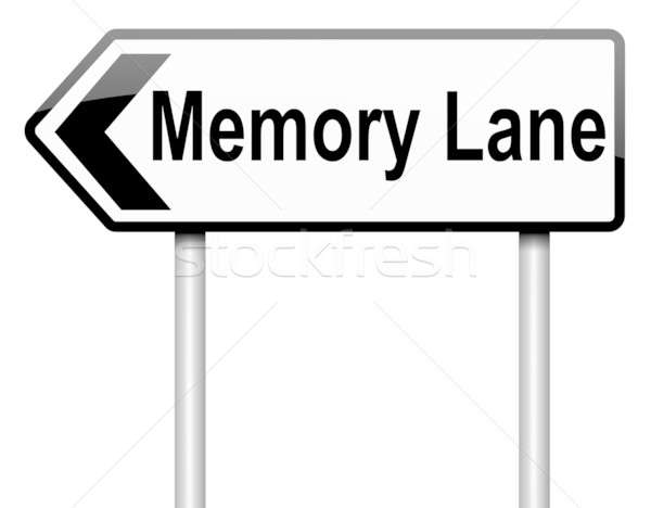 Memory lane concept. Stock photo © 72soul
