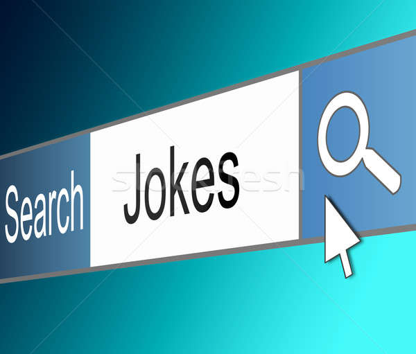 Search for jokes. Stock photo © 72soul