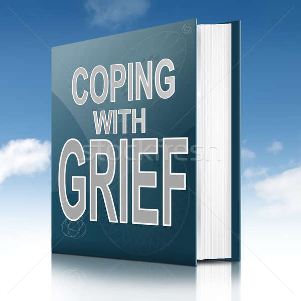 Coping with grief book. Stock photo © 72soul