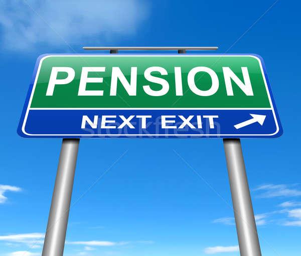 Pension concept. Stock photo © 72soul
