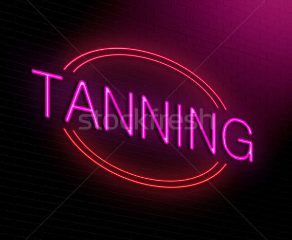 Tanning concept. Stock photo © 72soul