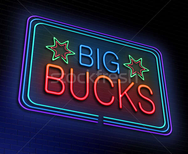 Big bucks concept. Stock photo © 72soul