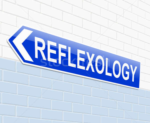 Reflexology concept. Stock photo © 72soul