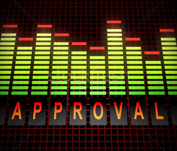 Approval levels concept. Stock photo © 72soul