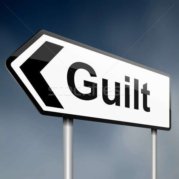 Guilt concept. Stock photo © 72soul