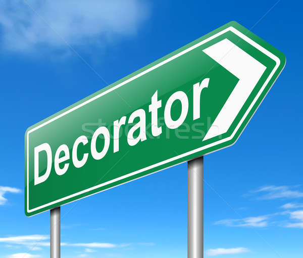 Decorator concept. Stock photo © 72soul