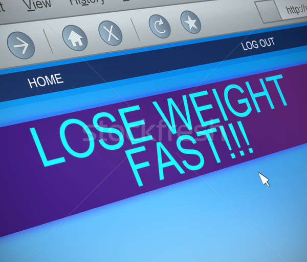Lose weight fast. Stock photo © 72soul