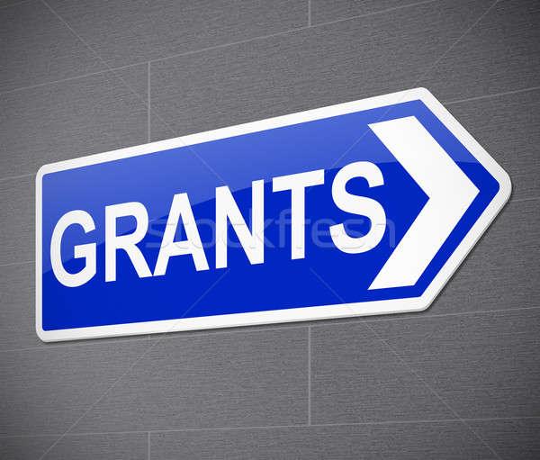 Grants concept. Stock photo © 72soul