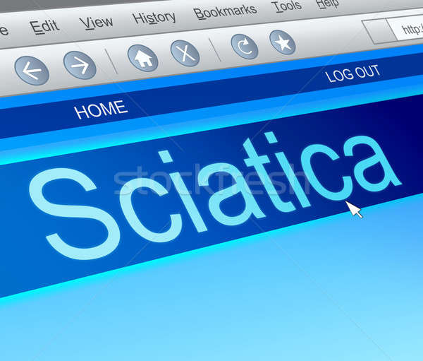 Sciatica concept. Stock photo © 72soul