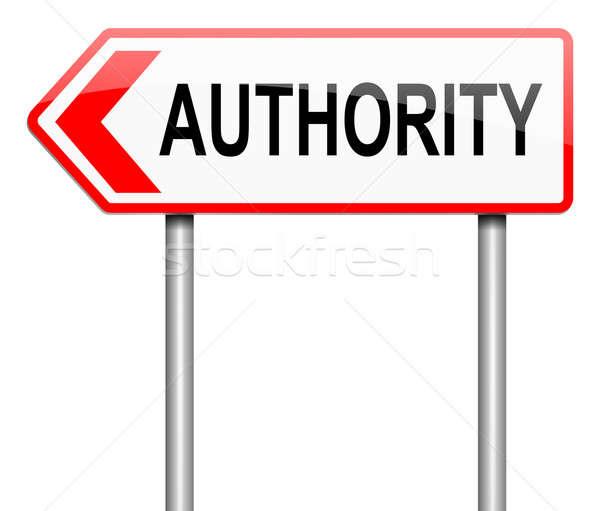 Authority concept. Stock photo © 72soul