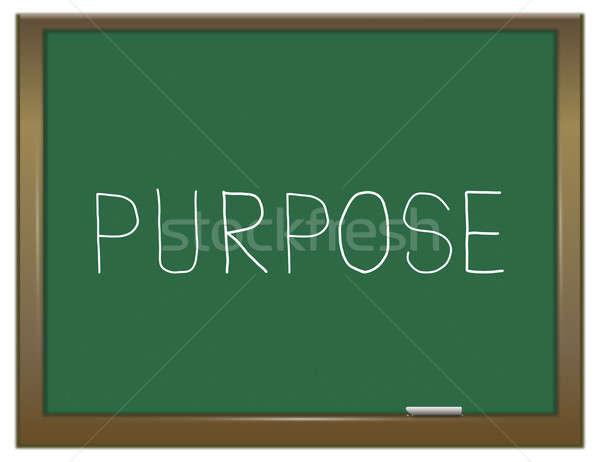 Purpose word concept. Stock photo © 72soul
