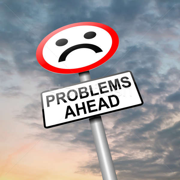 Problems ahead. Stock photo © 72soul