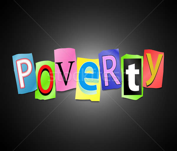 Poverty concept. Stock photo © 72soul