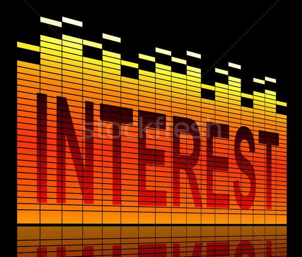 Interest concept. Stock photo © 72soul