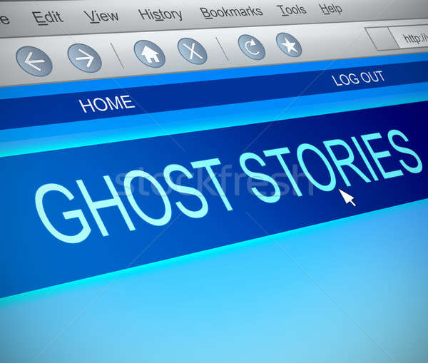 Ghost stories concept. Stock photo © 72soul