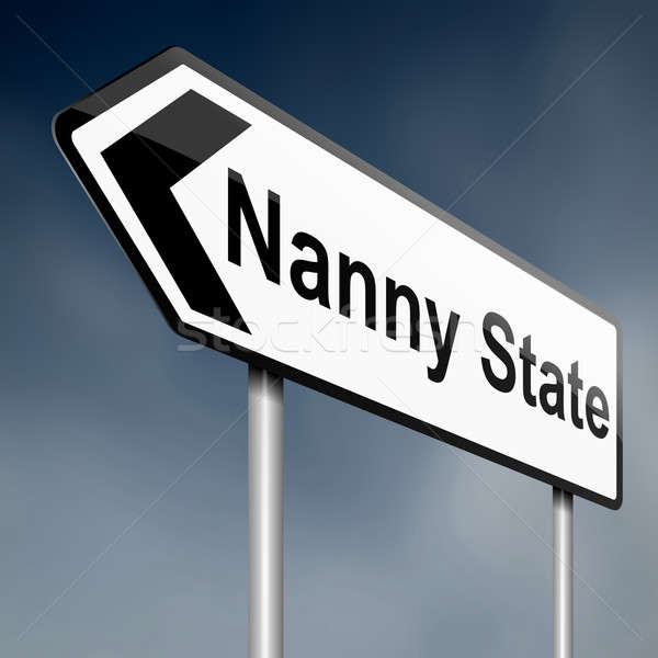 Nanny state concept. Stock photo © 72soul