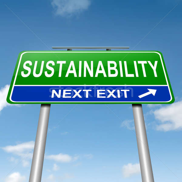 Sustainability concept. Stock photo © 72soul