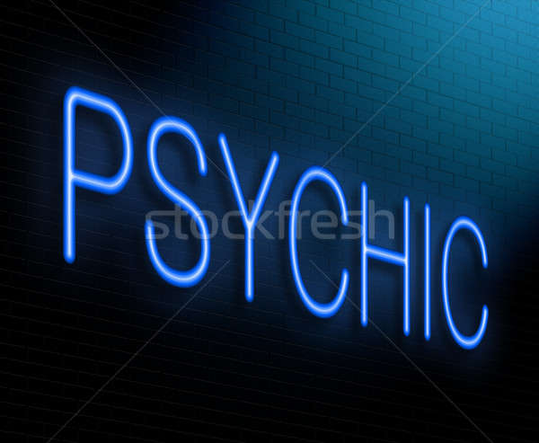 Psychic concept. Stock photo © 72soul
