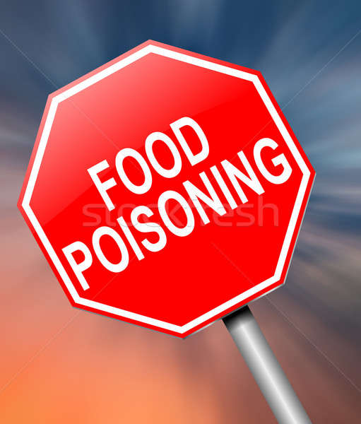 Food poisoning concept. Stock photo © 72soul
