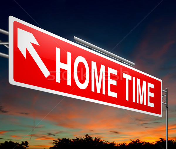 Home time concept. Stock photo © 72soul