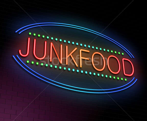 Junk food concept. Stock photo © 72soul