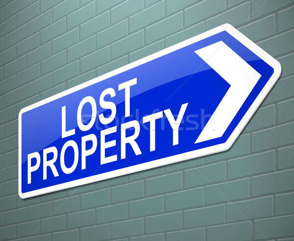 Lost property concept. Stock photo © 72soul
