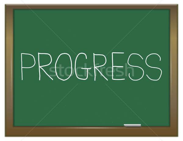 Progress word concept. Stock photo © 72soul
