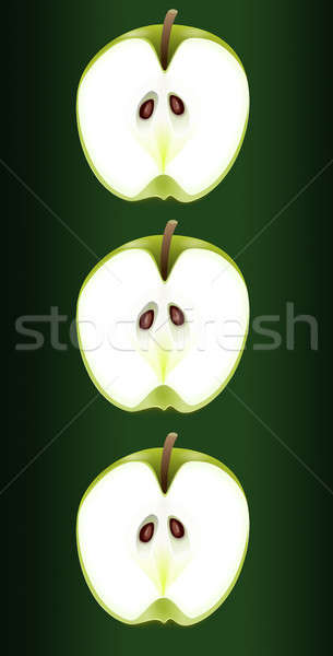 Apple trio. Stock photo © 72soul