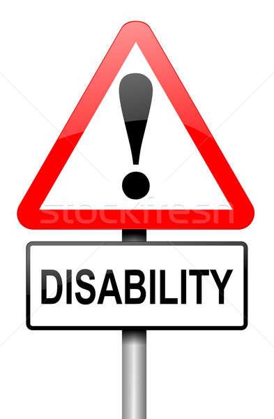 Disability awareness. Stock photo © 72soul
