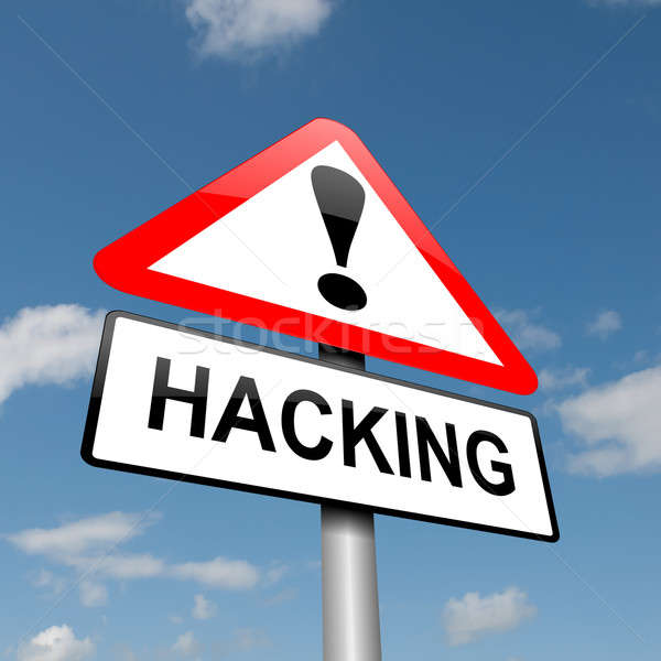 Hacking concept. Stock photo © 72soul