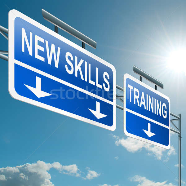 New skills concept. Stock photo © 72soul
