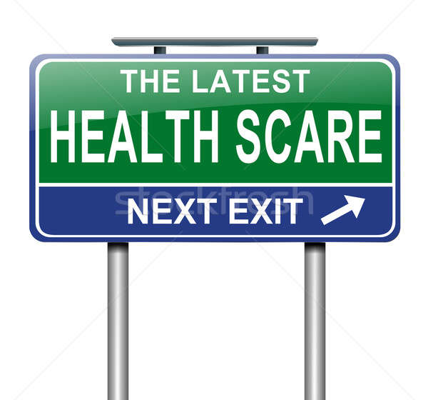 Health scare concept. Stock photo © 72soul