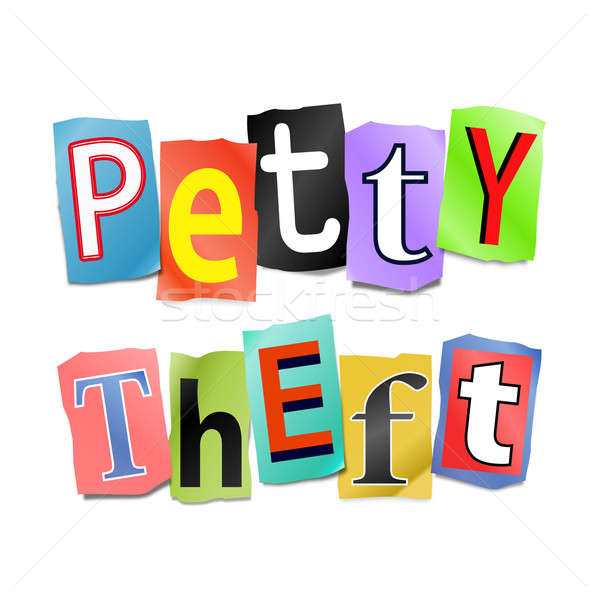 Petty theft concept. Stock photo © 72soul
