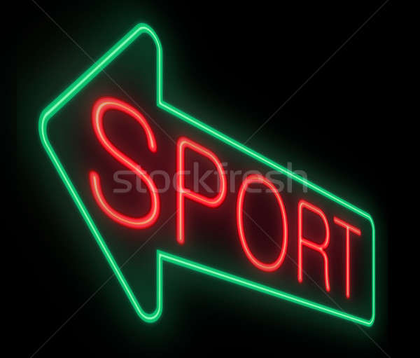 Sports concept. Stock photo © 72soul