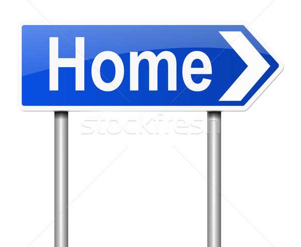 Home concept. Stock photo © 72soul