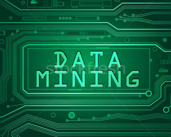 Data mining concept.. Stock photo © 72soul