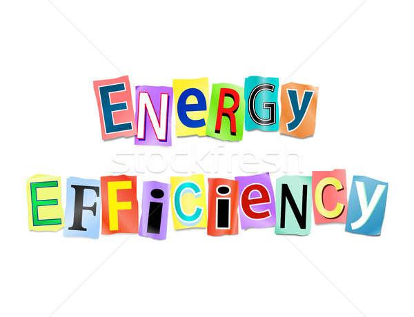 Energy efficiency concept. Stock photo © 72soul