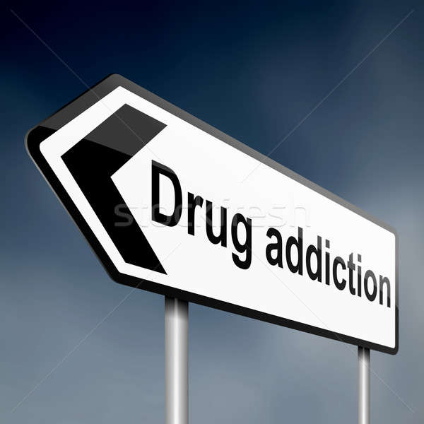 Drug addiction. Stock photo © 72soul