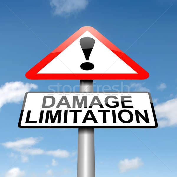 Damage liability concept. Stock photo © 72soul