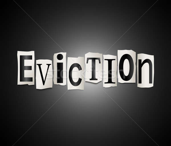 Eviction concept. Stock photo © 72soul