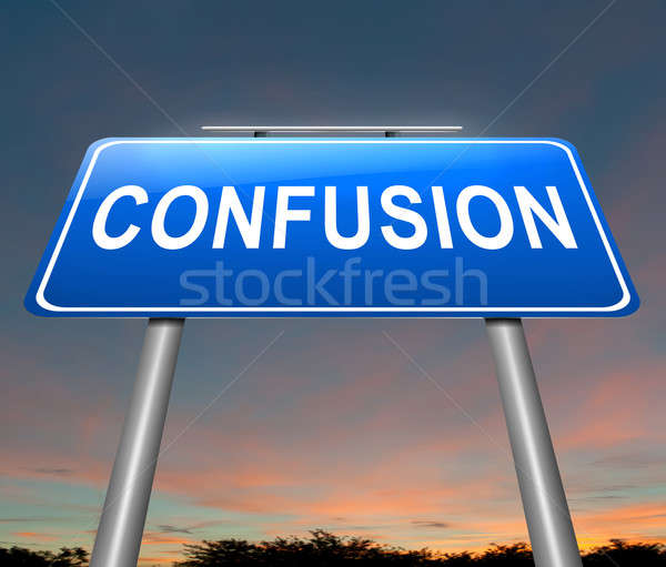 Confusion concept. Stock photo © 72soul
