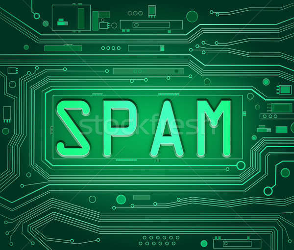 Spam concept. Stock photo © 72soul