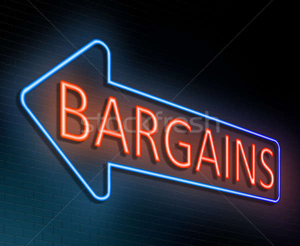 Bargains concept. Stock photo © 72soul