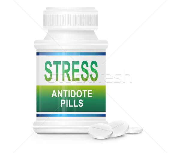 ストレス 実例 コンテナ 単語 解毒剤 ストックフォト © 72soul