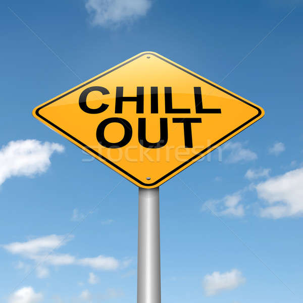 Chill out concept. Stock photo © 72soul