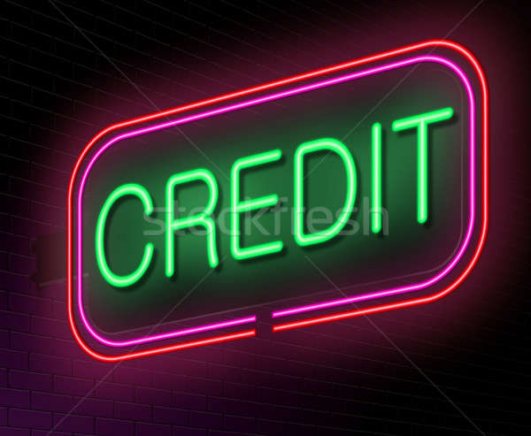 Credit concept. Stock photo © 72soul