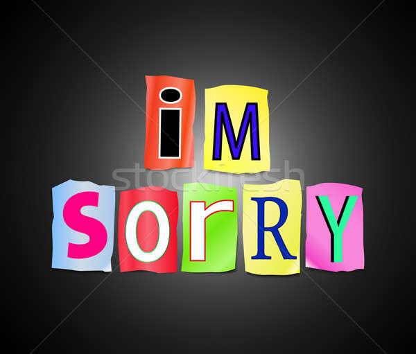 I'm sorry. Stock photo © 72soul