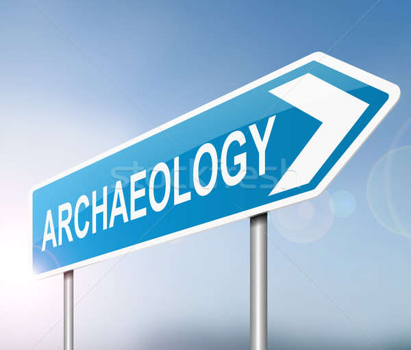 Archaeology concept. Stock photo © 72soul