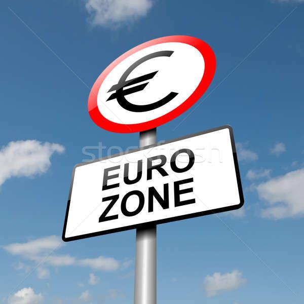 Euro zone concept. Stock photo © 72soul