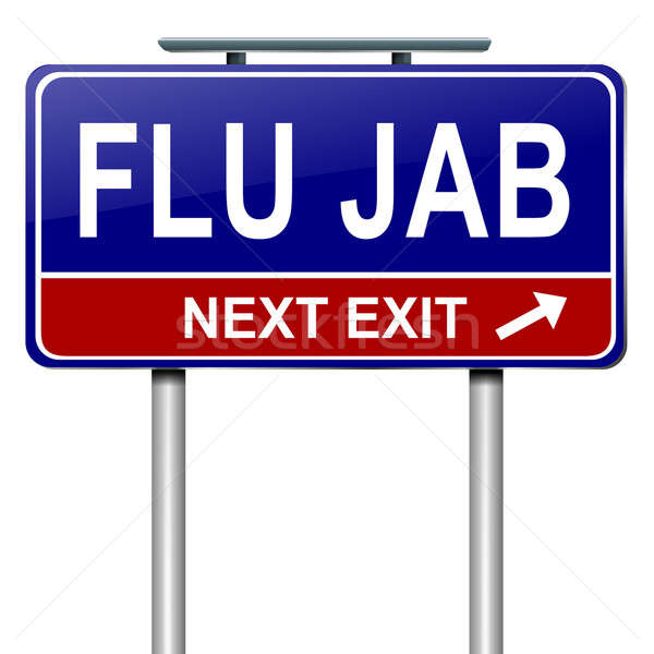 Gripe alertar ilustração saúde pare Foto stock © 72soul